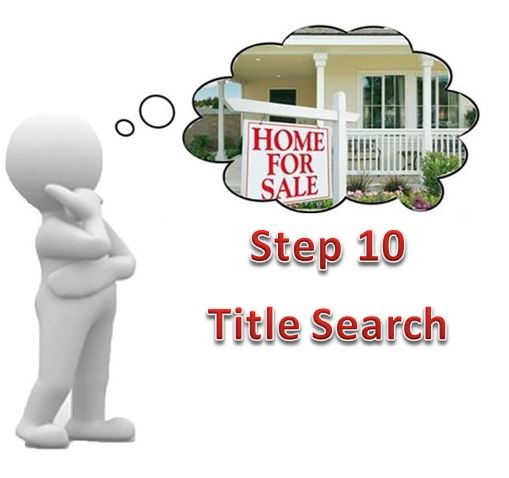 How to a home Title Search