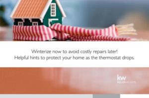 Five Important Winter Maintenance Tips for your Home