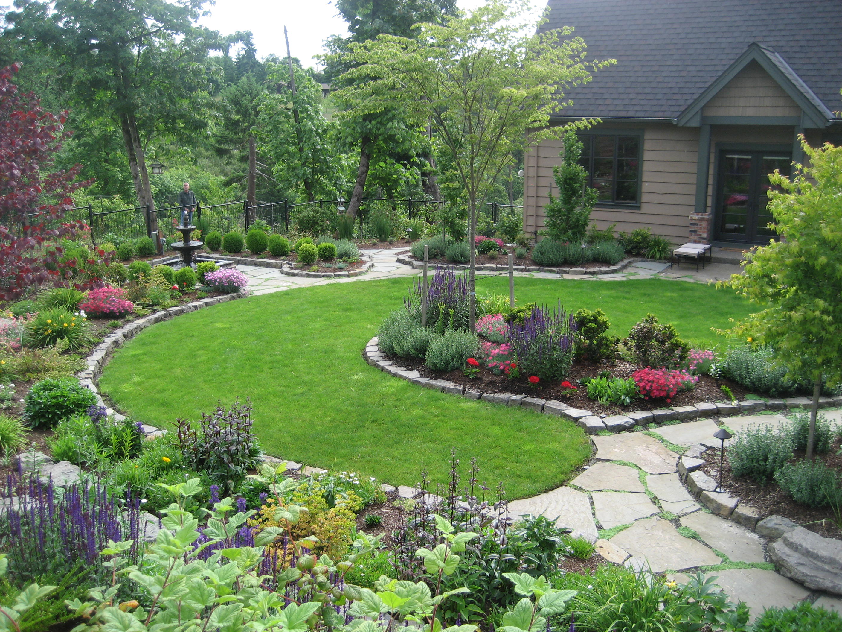 47 suggestions and ideas to make your home sell faster for Big back garden designs